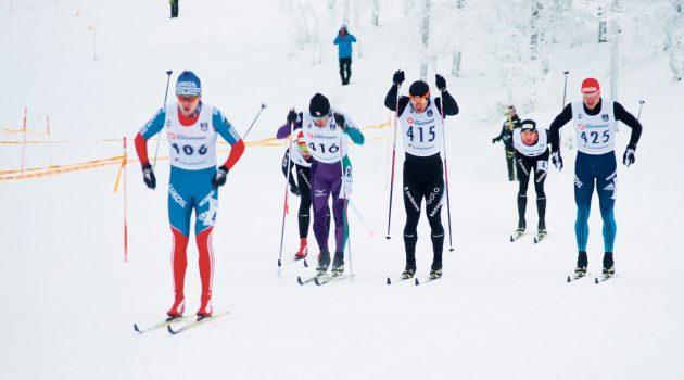 XV Saariselän FIS- kisat Huippu hiihtojoukkueita mukana
