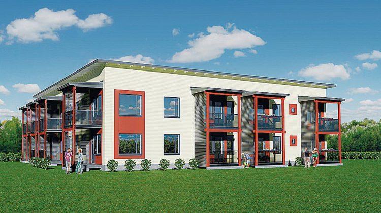 Ivaloon valmistuu uusia asuntoja luhti- ja kerrostaloihin