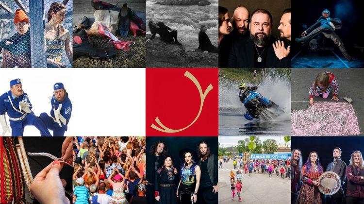 Saariselältä Sevettijärvelle ja takaisin Kesäistä kulttuuria kunnan täydeltä